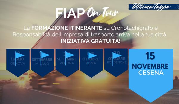 FIAP ON TOUR 2017 – fa tappa a Cesena