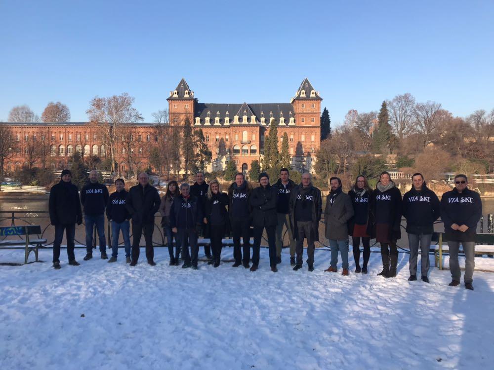 A Torino il quarto meeting dei CEO del Gruppo Viasat