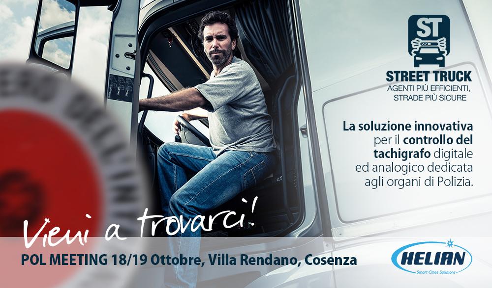 Helian presenta Street Truck al Polmeeting di Cosenza