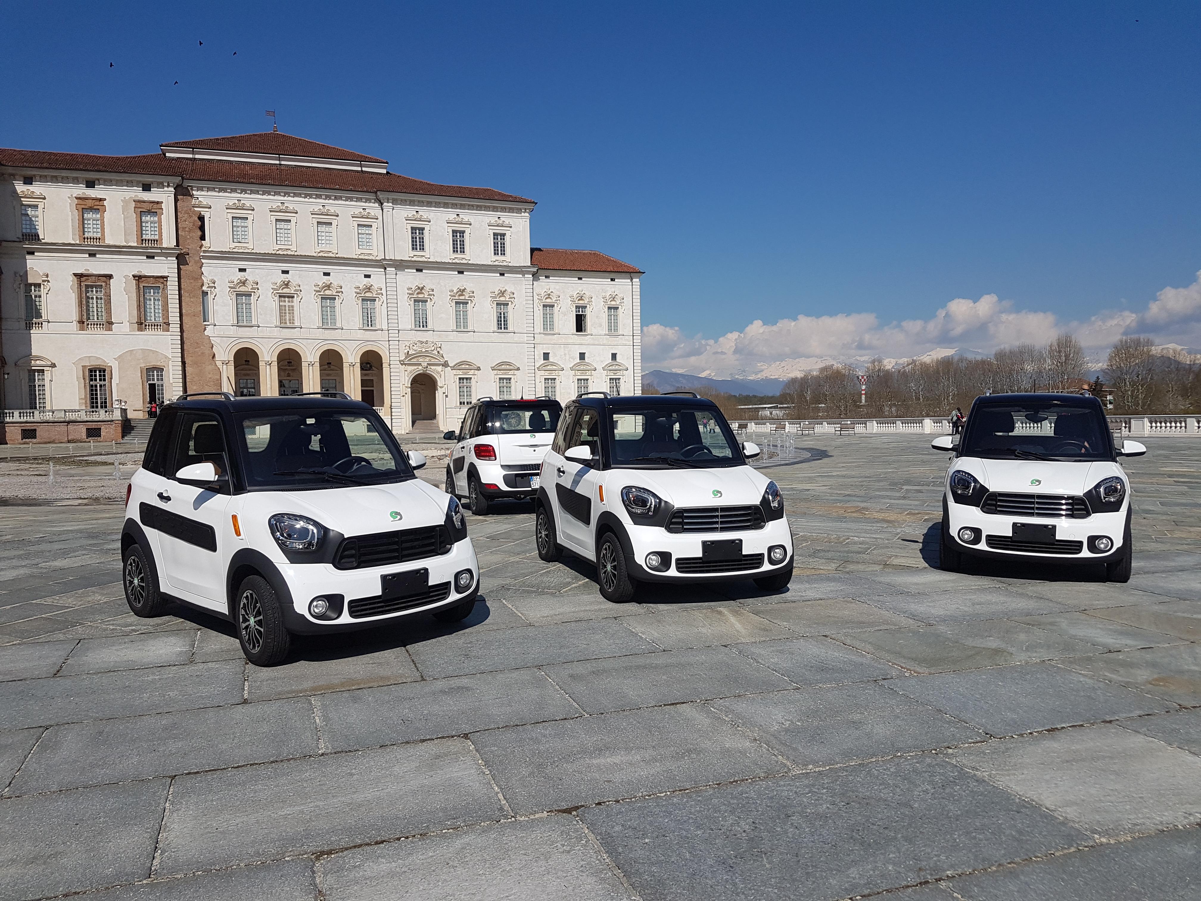 Progetto Europeo Steve: oggi consegnate ai sindaci di Torino e Venaria le chiavi dei quadricicli elettrici