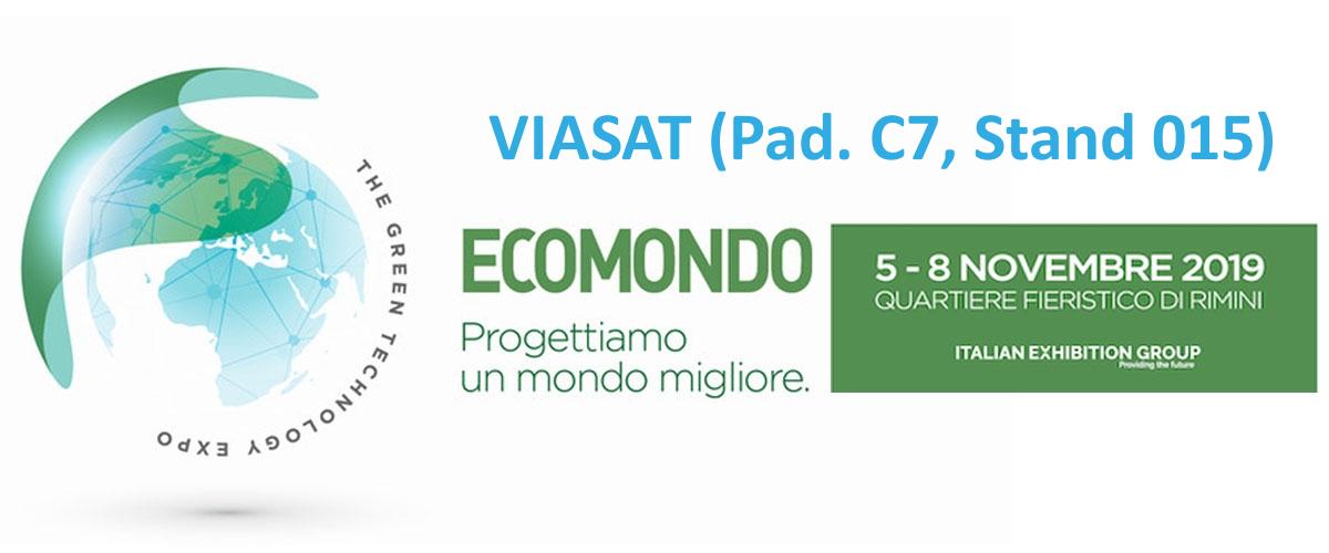 Viasat presente ad Ecomondo 2019