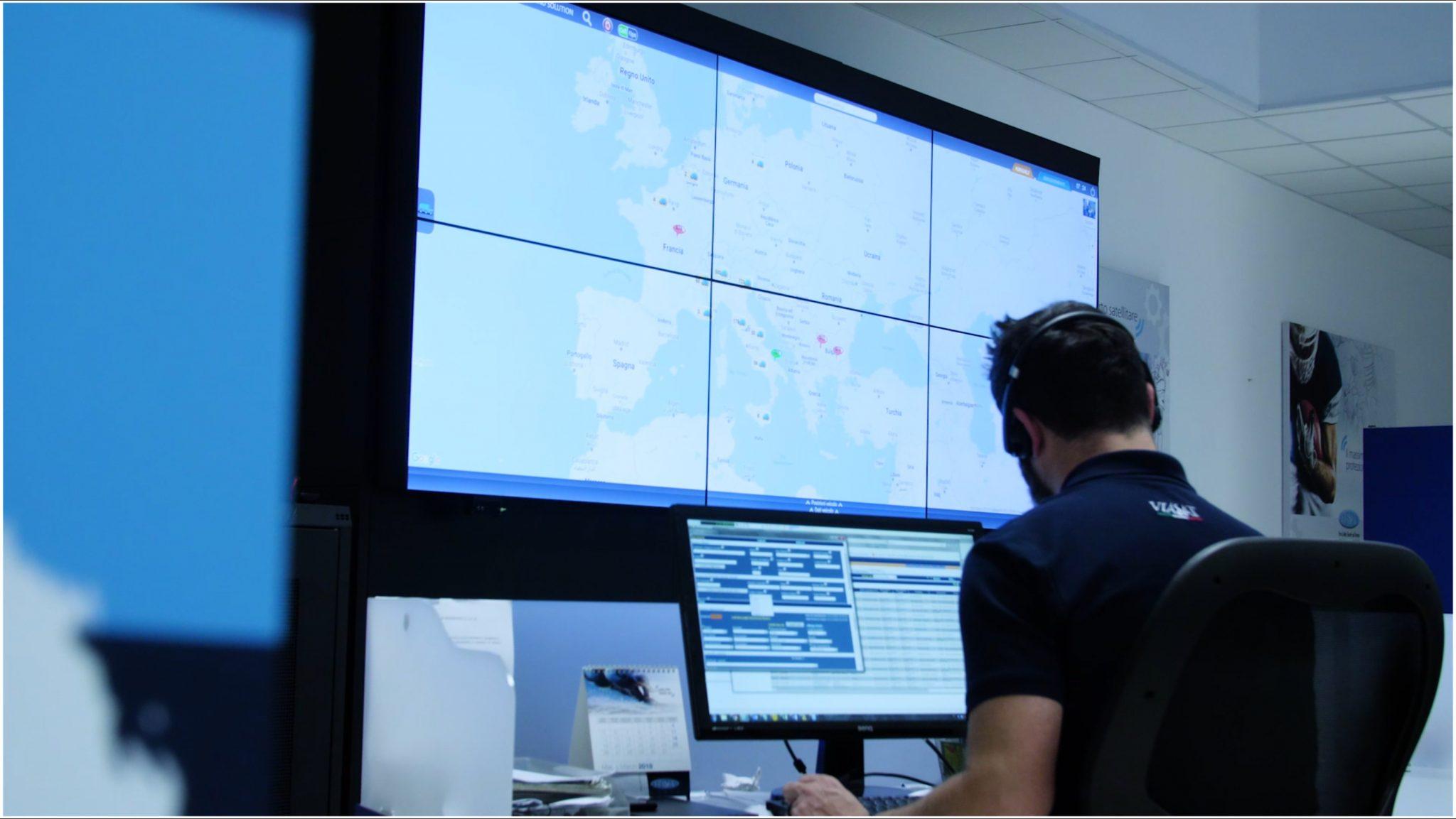 Il network europeo di Centrali Operative Viasat